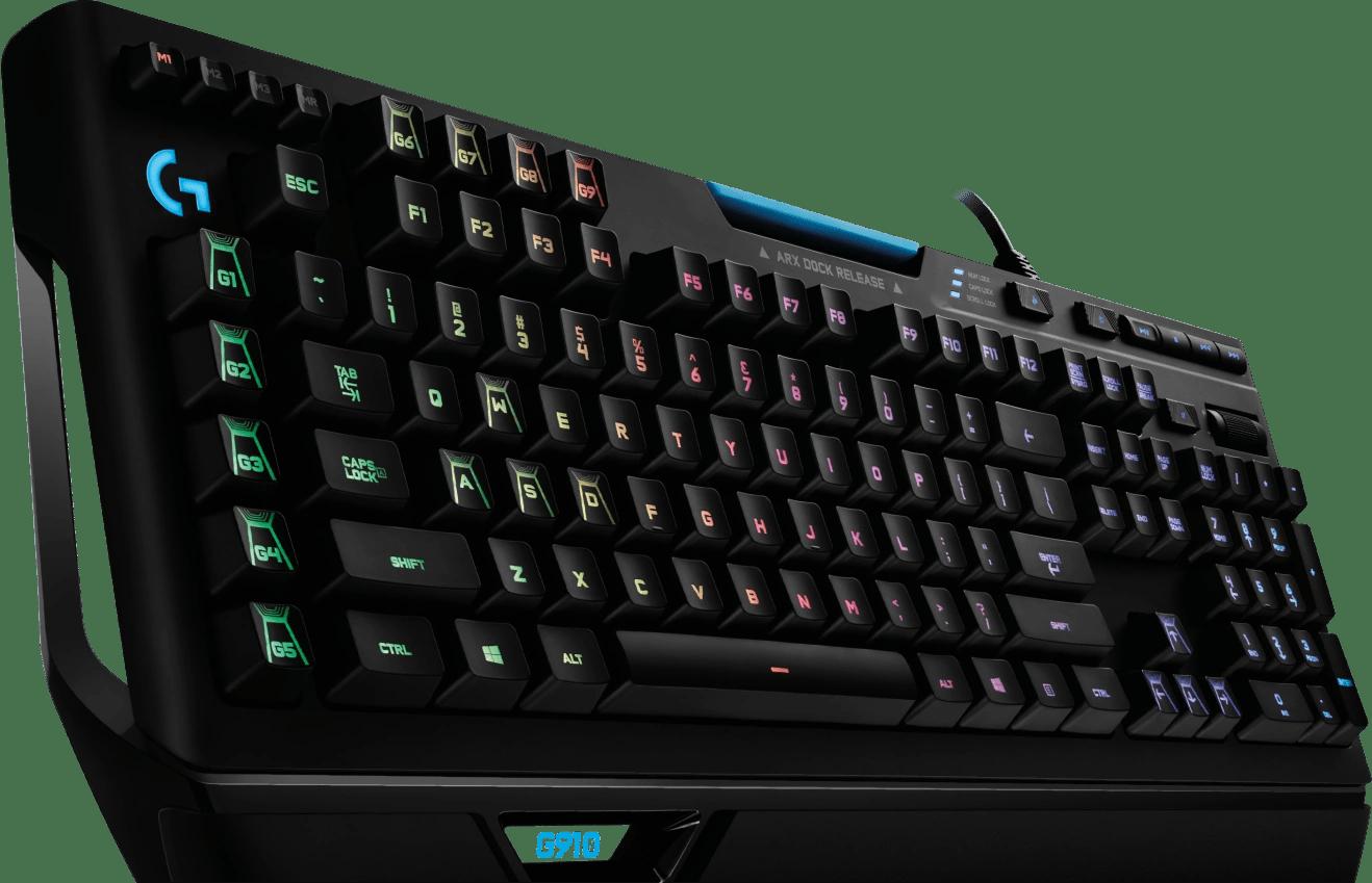 logitech g910 orion spectrum mechanische rgb gaming tastatur