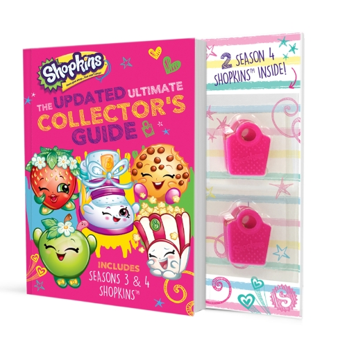 Product Shopkins Updated Ultimate Collector's Guide With Figurines