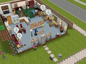 Courtesy Houses / Lots The Sims FreePlay