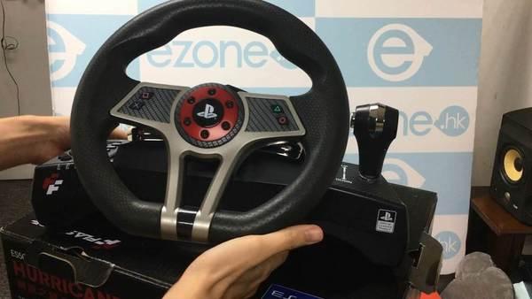 GT Sport平民軚盤 ES500R 颶風之翼【開箱】 - ezone.hk - 遊戲動漫 - 電競遊戲 - D171019