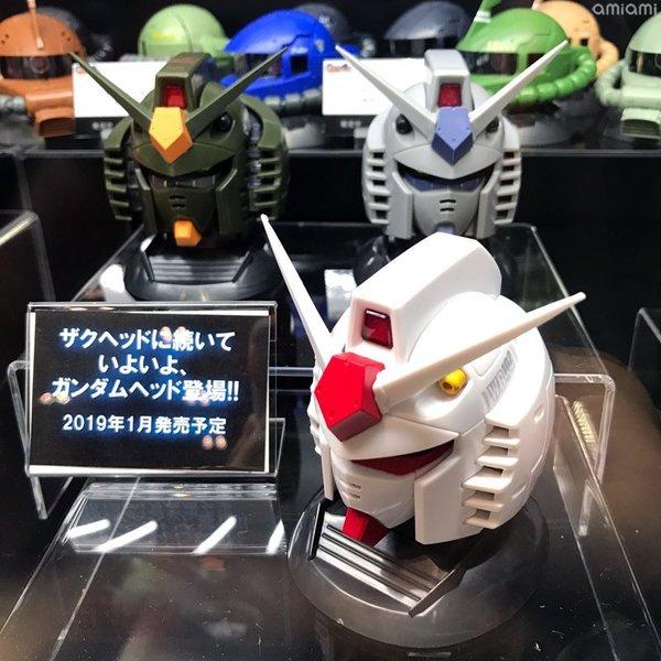 高達頭扭蛋發表 一套3款2019年1月上市 - ezone.hk - 遊戲動漫 - 動漫玩具 - D180828