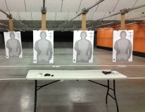 Target practice with my husband