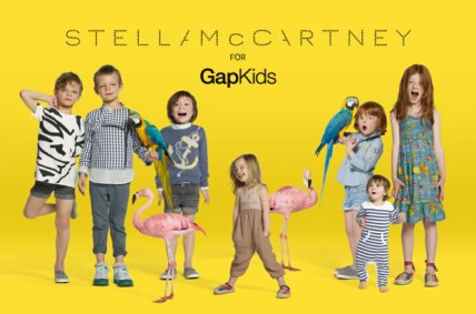 GapKids, Stella McCartney, Brand Collaboration, FRCH Creative Fuel