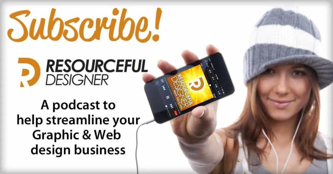 Resourceful Designer - Graphic Design Podcast
