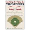 Hepatitis B Vaccine Series Poster for Staff