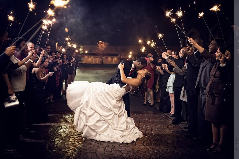 Wedding Photography Career: How The Wrong Sparklers Almost Cost Me My Wedding