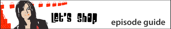Lets Shop Episode Guide banner