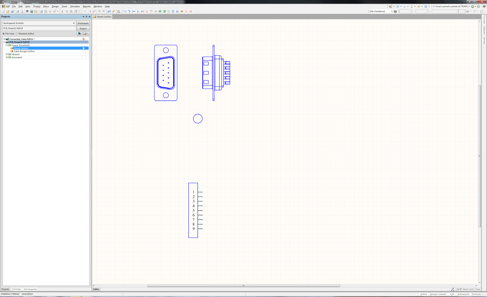How to use Schematic CAD Drawings for Cable Assemblies
