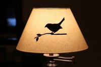 Artsy Lamp Shade | campnavigator.com