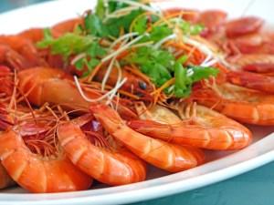Crustacean shellfish