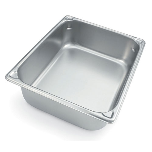 Pour Corners Stainless Steel Food Pan