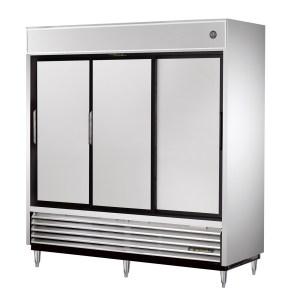 True TSD-69 Sliding Door Reach-In Refrigerator