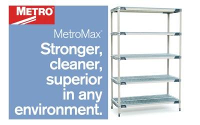 MetroMax Polymer Shelving – The Forever Shelving Solution