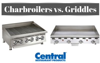Charbroiler vs. Griddle