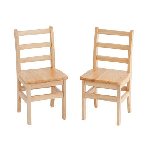 Preschool wood chair