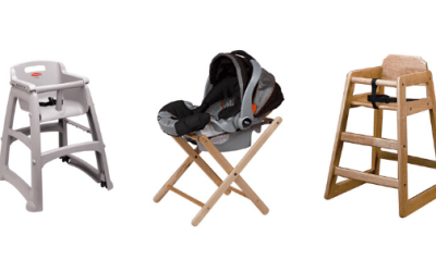 Restaurant High Chairs: Everything You Need To Know