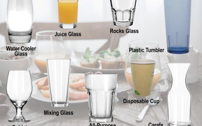 The Types of Drinking Glasses to Know