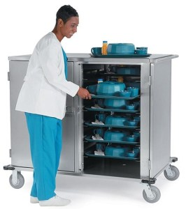 Lakeside Meal Delivery Cart