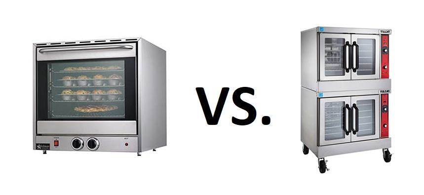 Counter vs. floor convection oven