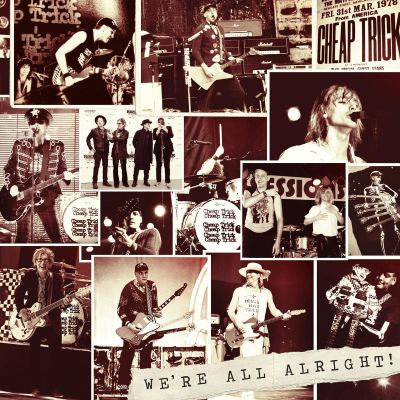 LP Cheap Trick - Were All Alright!