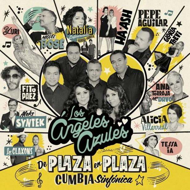 CD Los Ángeles Azules- De Plaza en Plaza Cumbia Sinfónica
