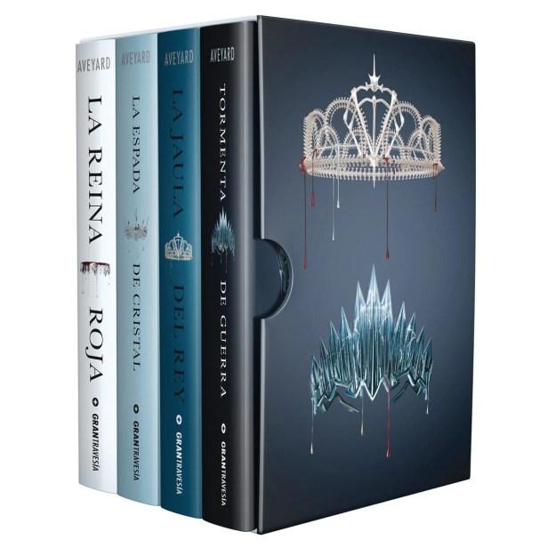 Serie Reina Roja (4 volúmenes)
