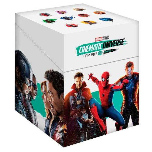 Blu Ray Paquete Marvel Fase 3 Parte 1