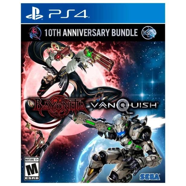 Ps4 Bayonetta & Vanquish 10Th Anniversary Bundle