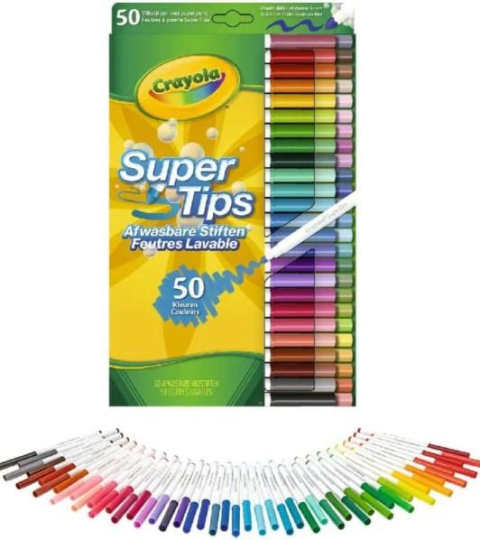 Plumones Super Tips 50 Marca Crayola Plumones Crayola