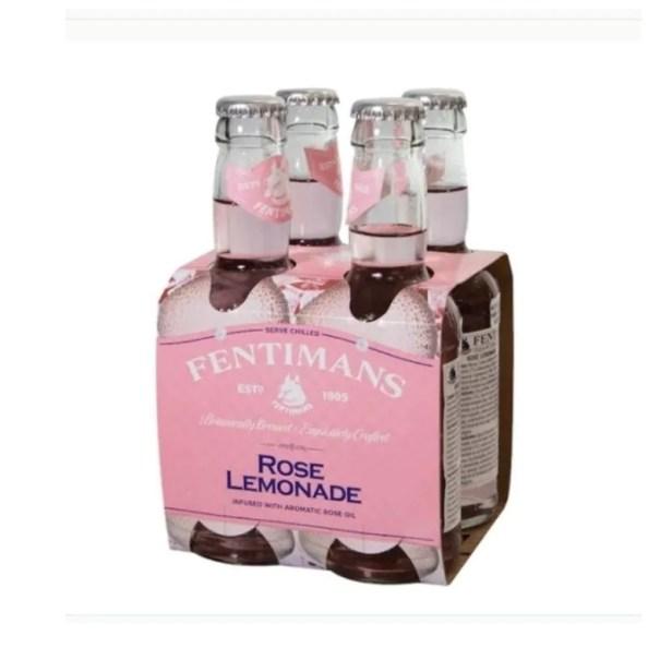 Agua Fentimans Rose Limonade 4 Bot 200ml C/u