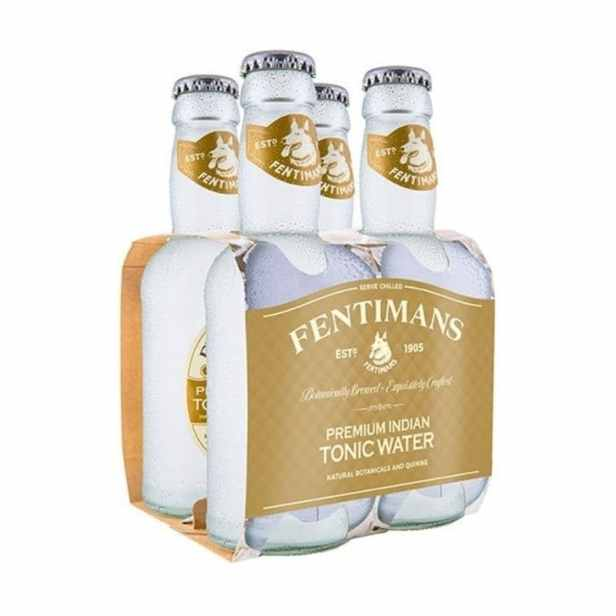 Agua Fentimans India Tonic Paq 4 Bot C/u 200ml