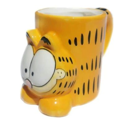 Taza Garfield 3D Tarro Cafe