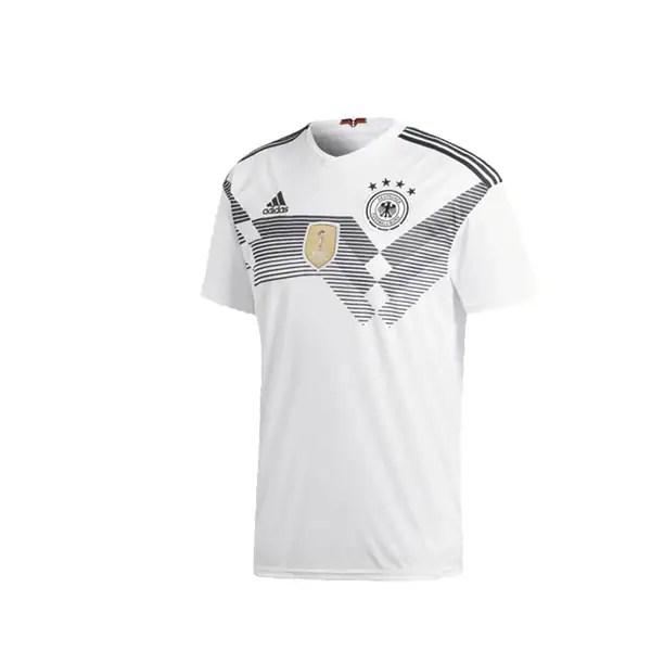 Playera Adidas Futbol Alemania Blanco - BR7843