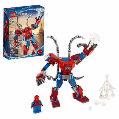 LEGO Armadura Robótica De Spiderman / 152 pzas De Bloques De Construcción