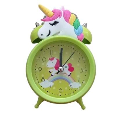 Reloj De Unicornio Niños Verde