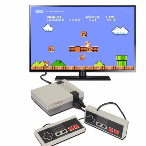 Consola Retro Nes 620 juegos Clásicos Mario, pacman