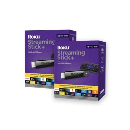 Streaming Stick Plus 2 Piezas Roku 665389 CST