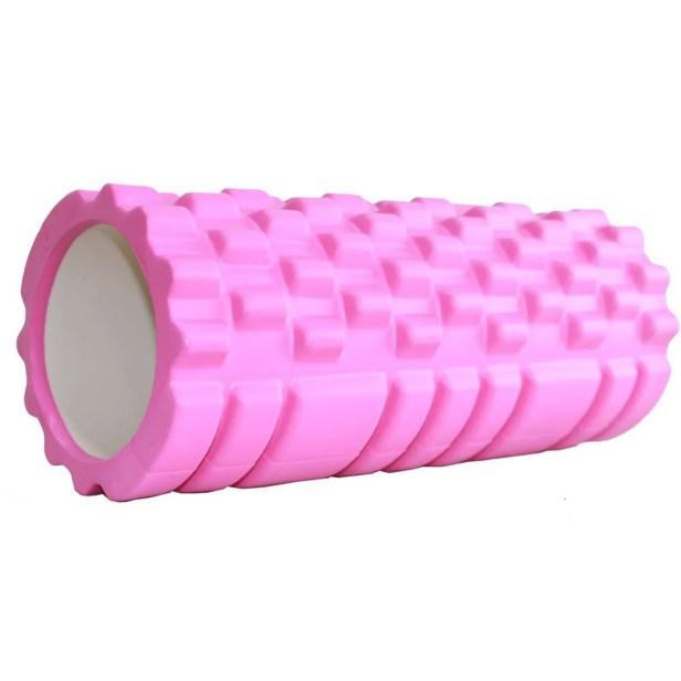 Rodillo de espuma para yoga/masaje muscular Gym(CL) Rosa Unitalla