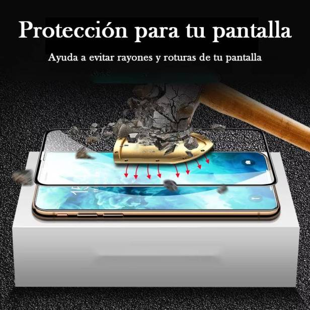 Mica Cristal Templado iPhone 12