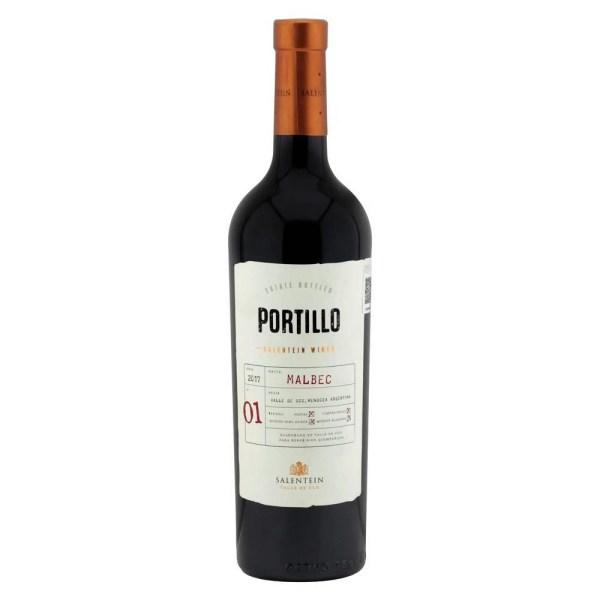 Vino Tinto Portillo Malbec 750 ml