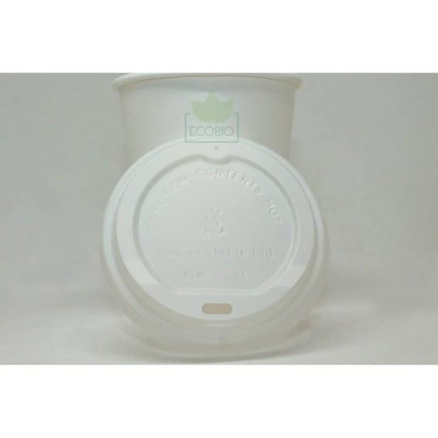 Tapa Para Vaso Café De 8 a 16oz Biodegradable Compostable Ecobio