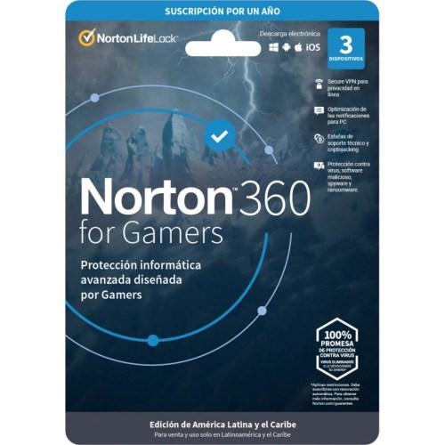 NORTON 360 FOR GAMERS / TOTAL SECURITY 3DV 1YR (TMNR-023)