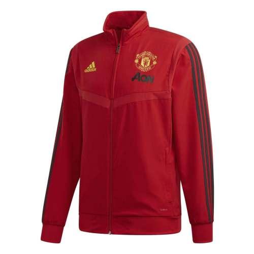 Chamarra de Presentación Adidas Manchester United Hombre Futbol
