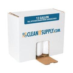 Kitchen Garbage Bags Sliding Cabinet Doors 13 Gallon Trash Drawstring Bag