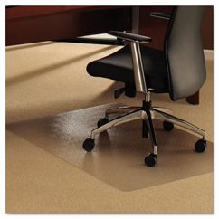 Clear Chair Mat White Desk With Arms Floortex Cleartex Ultimat For Plush Pile Carpets 47 X 35 Flr118927er