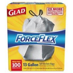 Kitchen Garbage Bags Cheap Kitchens Glad Forceflex Drawstring Trash 13 Gallon 100 Clo 70427