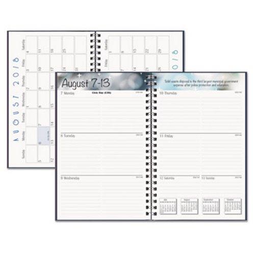 Doolittle Academic Weekly Assignment Planner, Black HOD27502