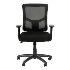 Alera Elusion Chair Swivel Victoria Bc Ii Series Mesh Mid Back Tilt With Adjustable Arms Aleelt4214f