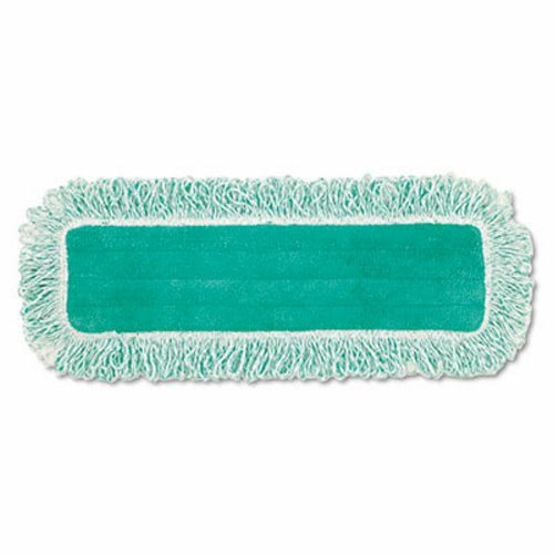 Rubbermaid Q418 Microfiber Dust Pad wFringe 18 Green