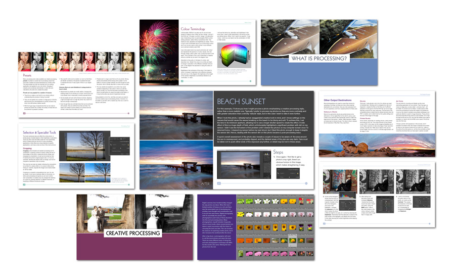 Photography Post Processing Guide Contents